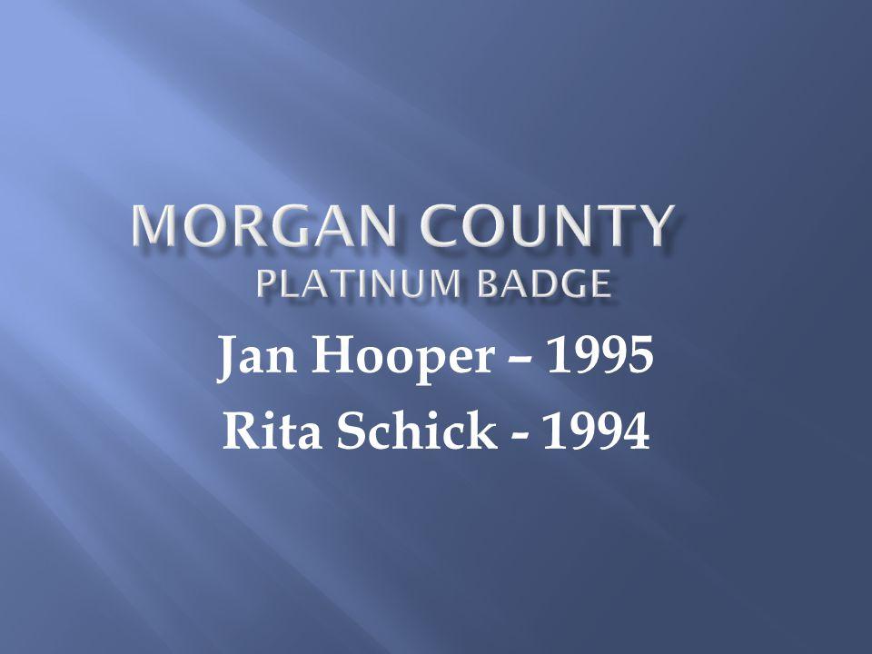 Jan Hooper – 1995 Rita Schick - 1994