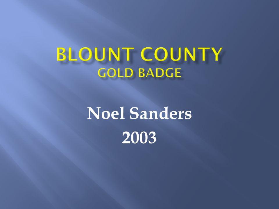Noel Sanders 2003
