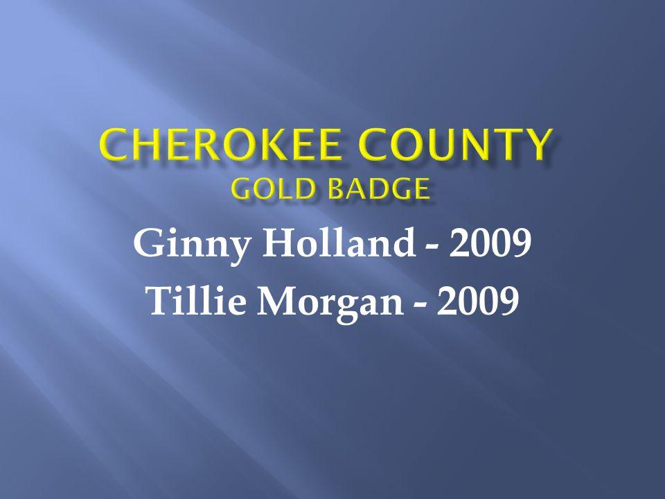 Ginny Holland - 2009 Tillie Morgan - 2009