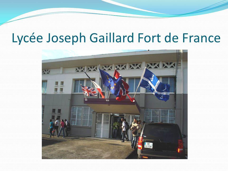 Lycée Joseph Gaillard Fort de France