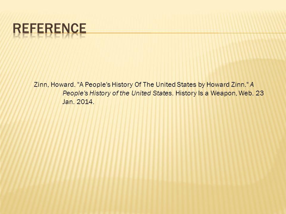Zinn, Howard.