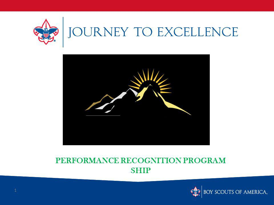 1 PERFORMANCE RECOGNITION PROGRAM SHIP