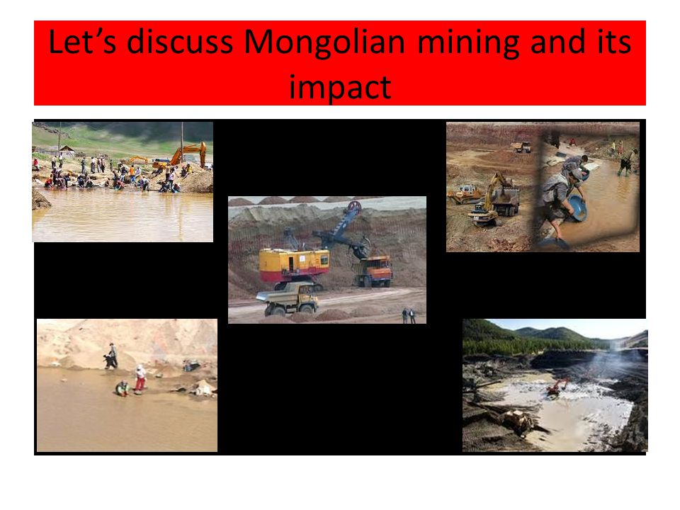 Question 1 Who are ninja-s or artesian miners. What is an impact of gold mining.