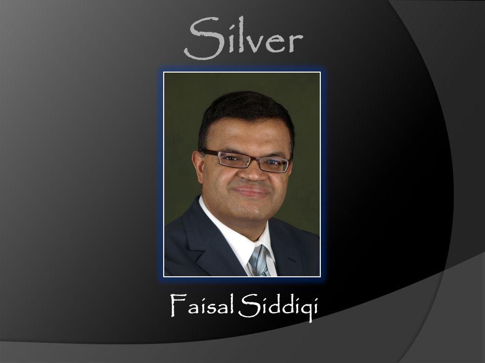 Faisal Siddiqi Silver