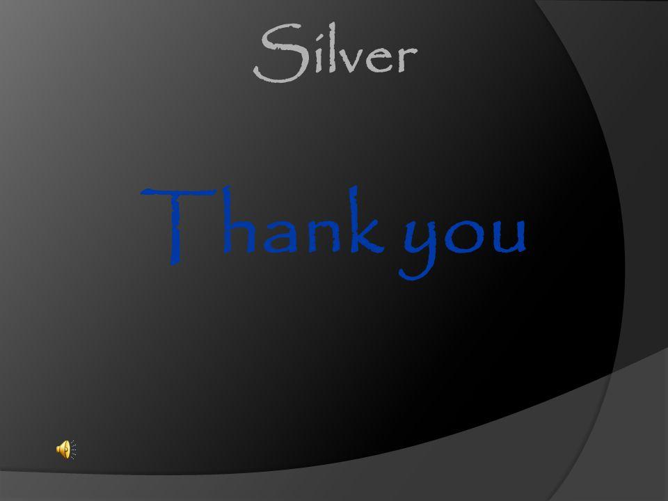 Thank you Silver