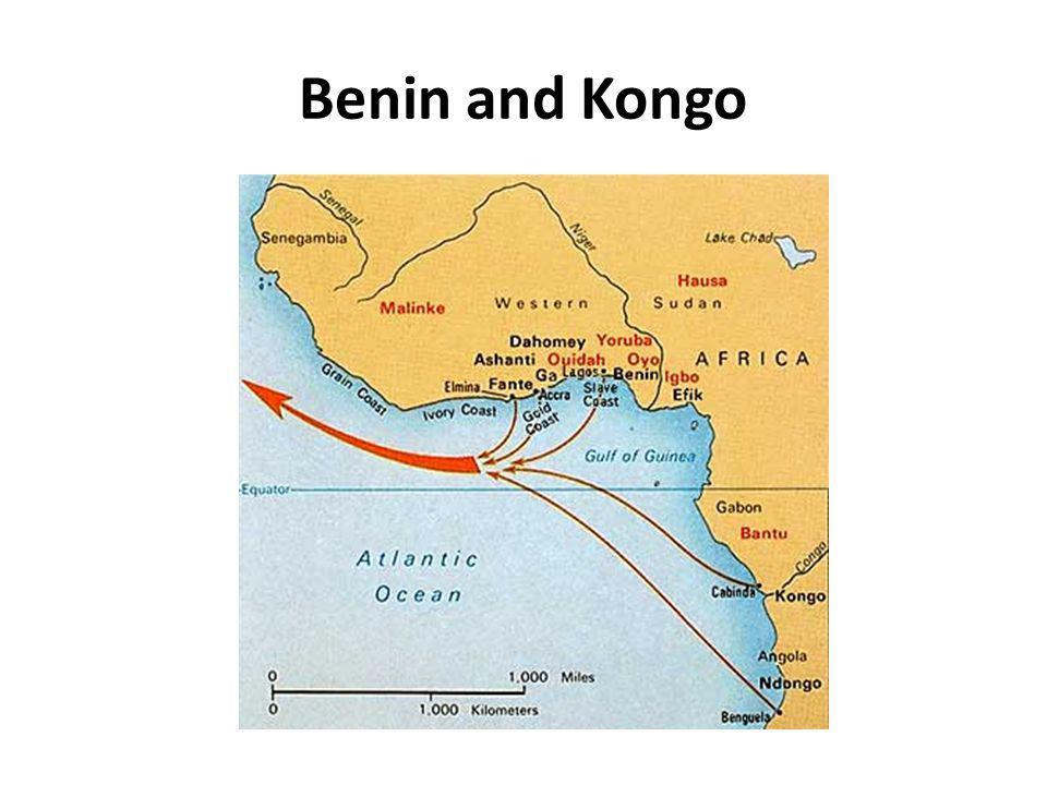 Benin and Kongo