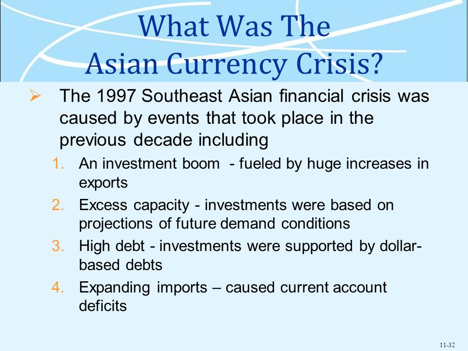 11-32 What Was The Asian Currency Crisis.