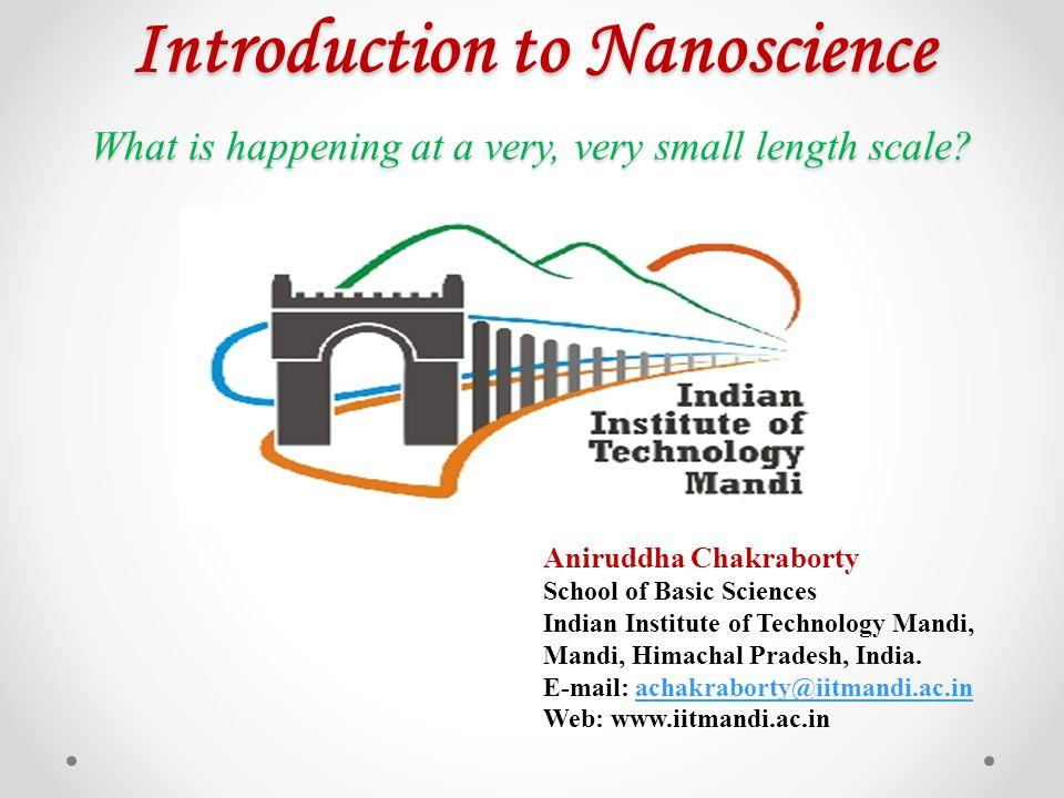 Acknowledgements Prof.K. L. Sebastian, IISc, Bangalore, India.