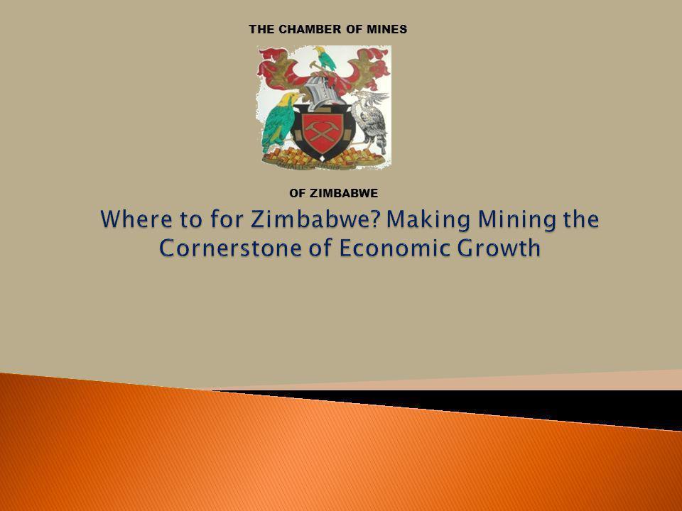 THE CHAMBER OF MINES OF ZIMBABWE