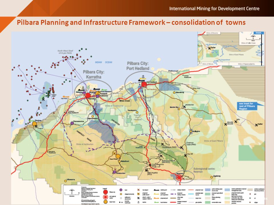 Pilbara Planning and Infrastructure Framework – consolidation of towns 14