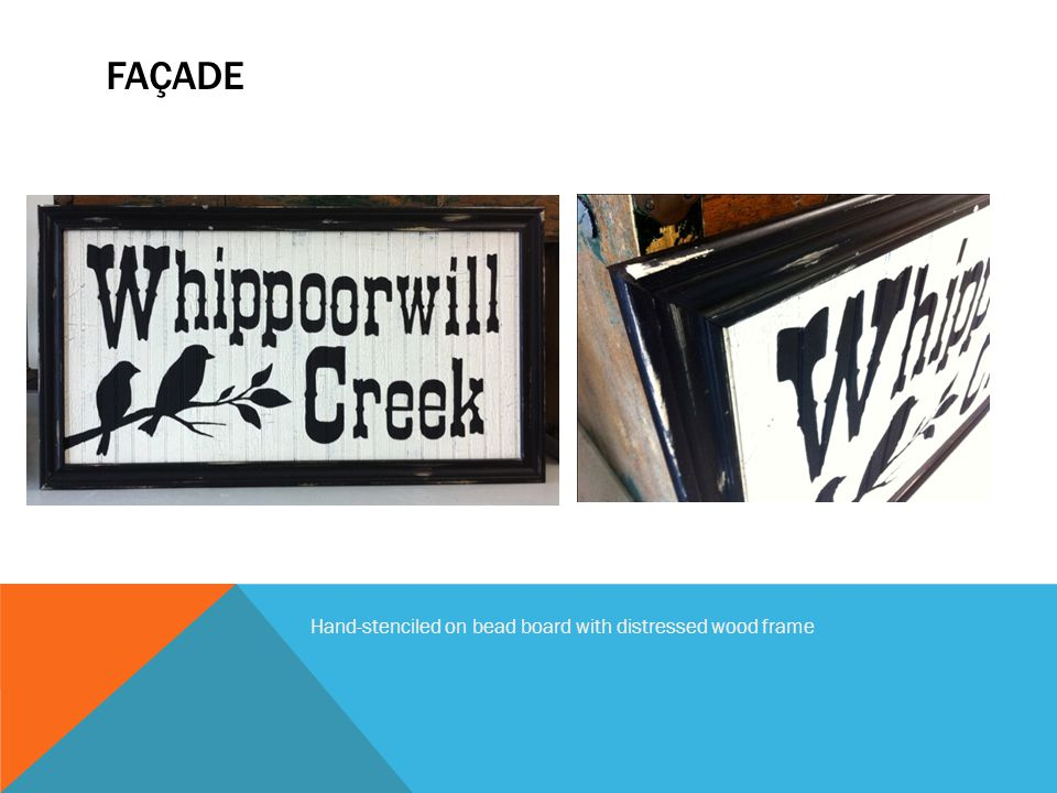 ARTISTIC/HYBRED Note use of building kick plate, window and sidewalk for product advertisement and brand I.D.