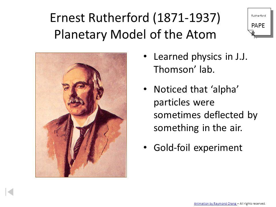 Thomsons Plum-Pudding or Raisin Bun Model Zumdahl, Zumdahl, DeCoste, World of Chemistry 2002, page 56