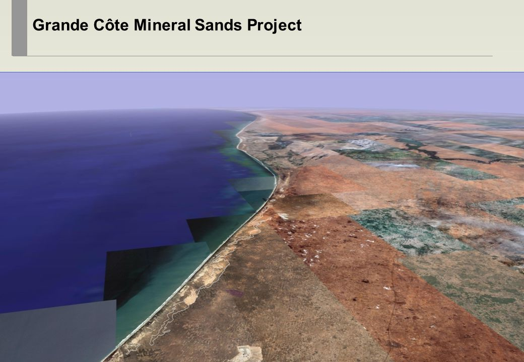 18 Grande Côte Mineral Sands Project