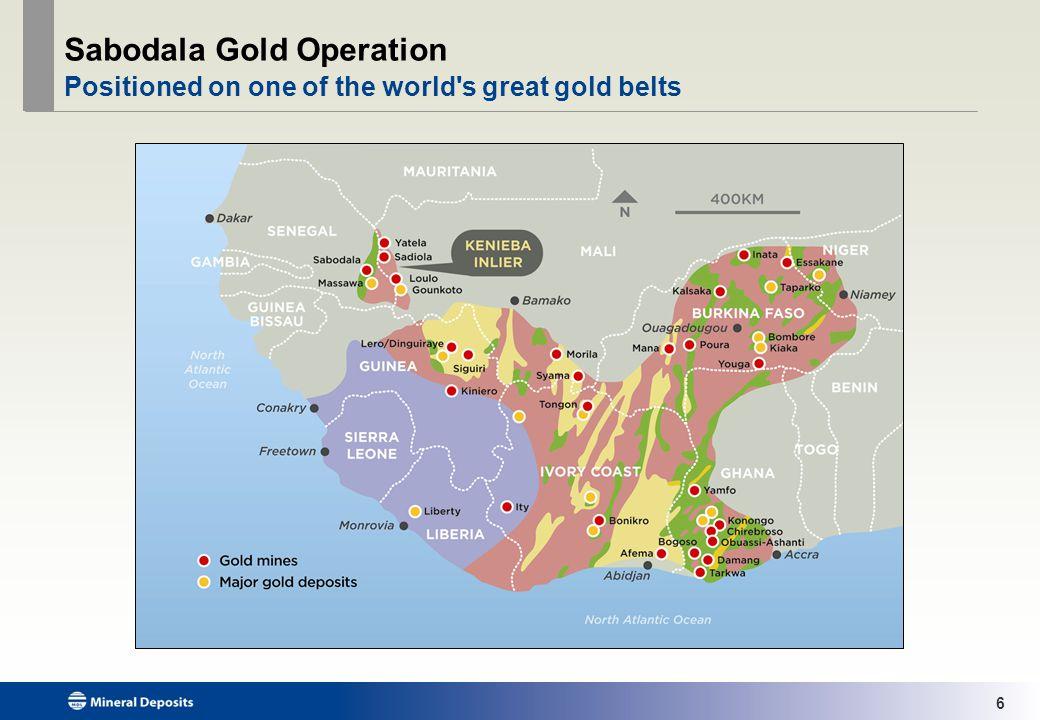 7 Sabodala Gold Operation