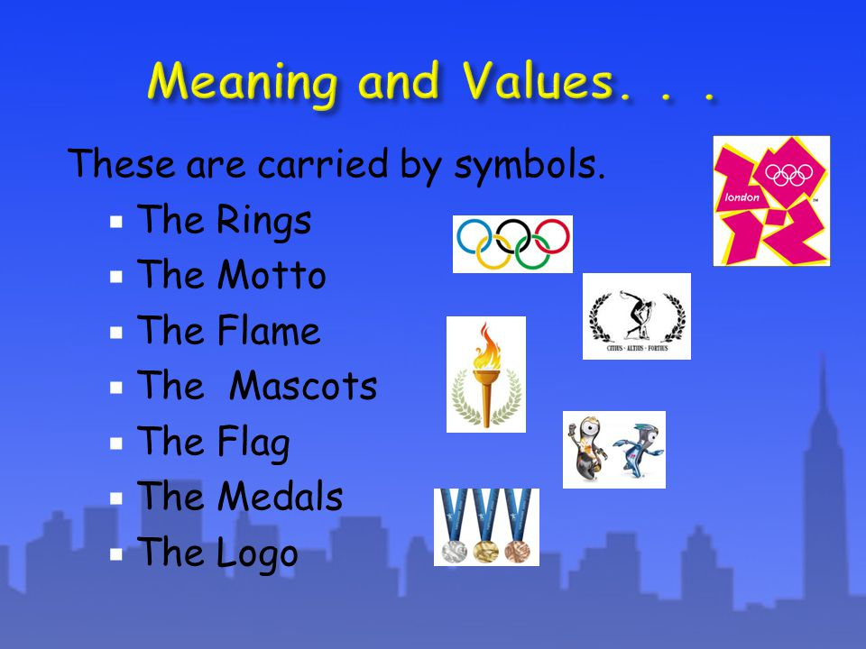 These are carried by symbols.