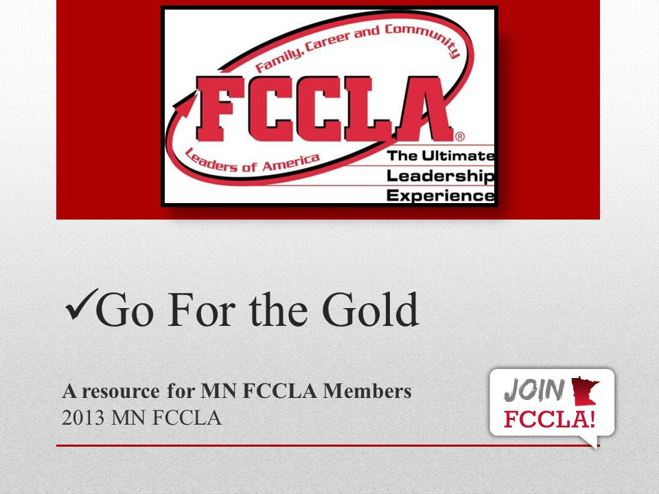 STAR Event Resources www.fcclainc.org National Rulebook and other Resources www.fcclainc.org www.mnfccla.org Minnesota rulebook and STAR Event program page www.mnfccla.org National FCCLA Resources: Chapter Handbook, Program resources People: Other teachers, Community members and other FCCLA Advisers This Powerpoint is a resource of MN FCCLA, prepared by the State Officer Team 2013-2014 52