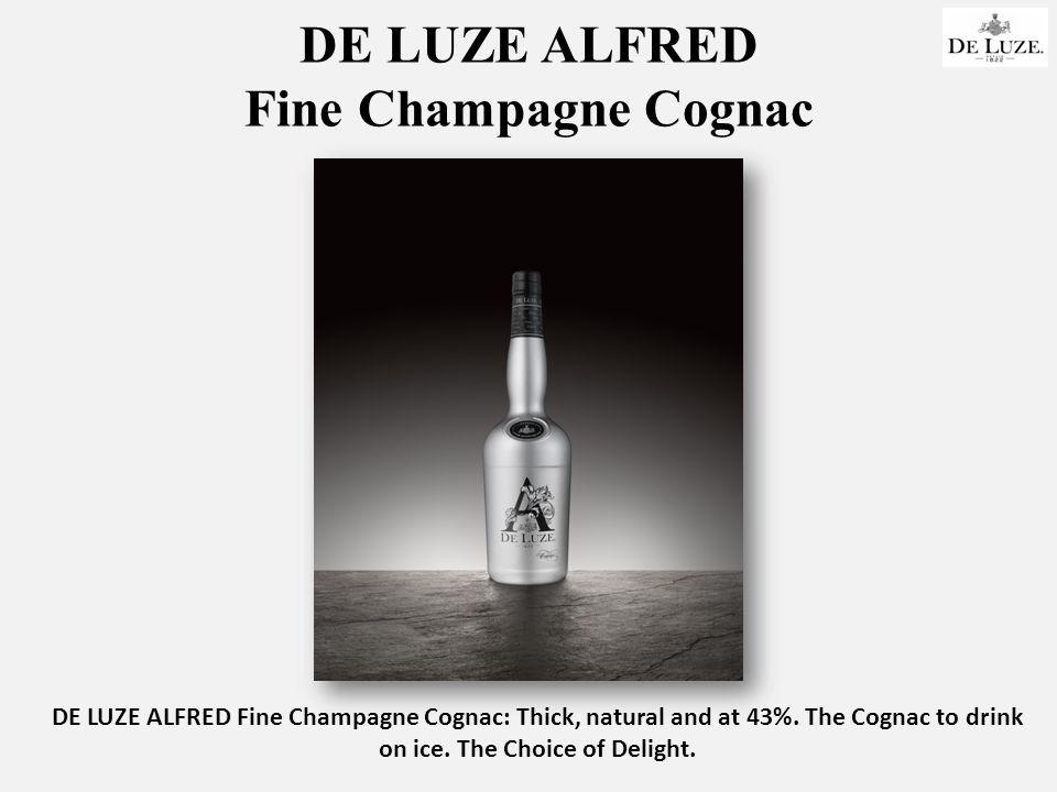 DE LUZE ALFRED Fine Champagne Cognac DE LUZE ALFRED Fine Champagne Cognac: Thick, natural and at 43%.