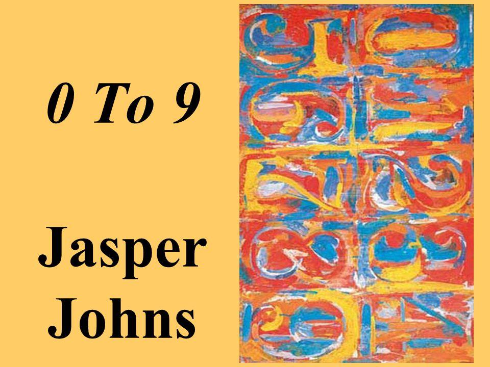 0 To 9 Jasper Johns