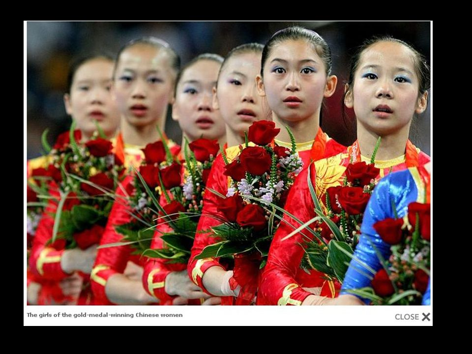 The girls of the gold-medal-winning Chinese women s gymnastics team might have seen their parents once a year since age three, when the state put the girls in a training program