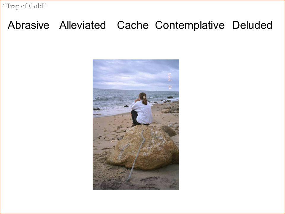 Abrasive Alleviated Cache Contemplative Deluded