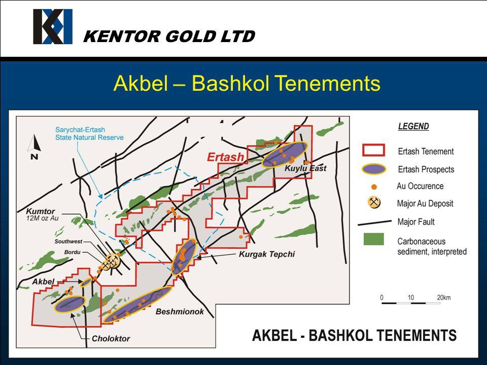 KENTOR GOLD LTD Akbel – Bashkol Tenements