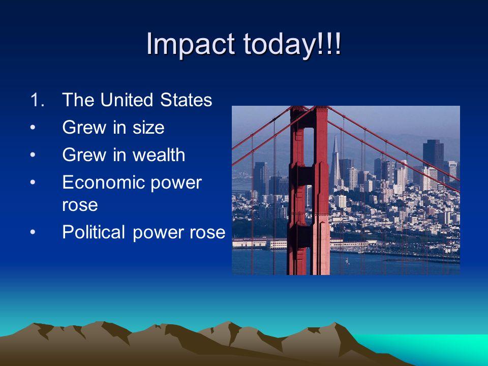 Impact today!!.