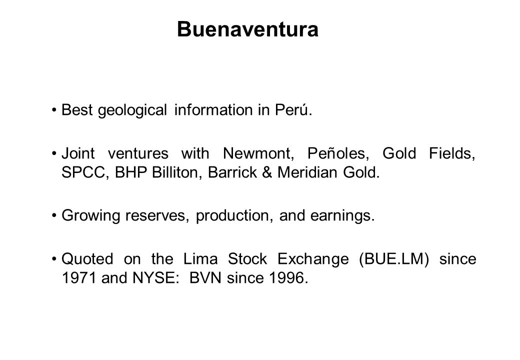 Best geological information in Perú.