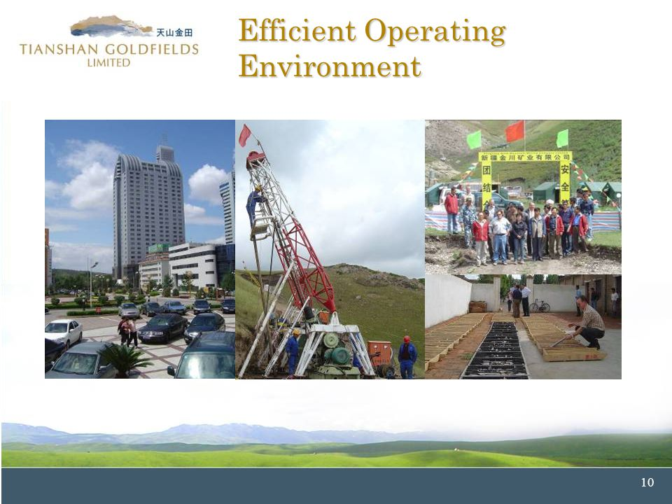 10 Efficient Operating Environment