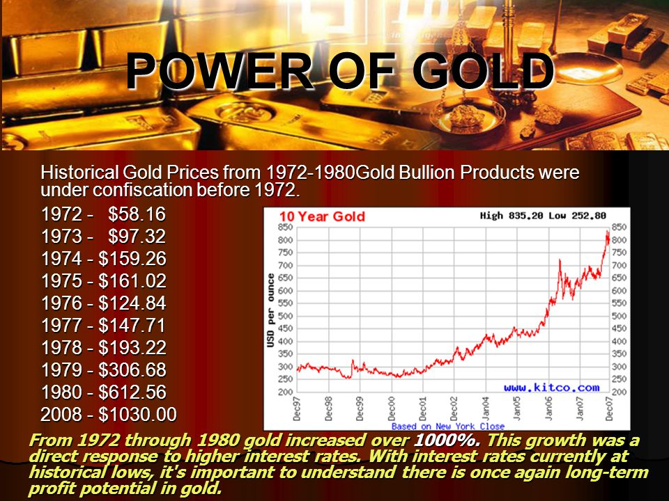 Gold price will fluctuate but will not crash Gold price will fluctuate but will not crash Gold is worlds most stable commodity and reliable store of value Gold is worlds most stable commodity and reliable store of value Gold is a save haven for diversification of assets Gold is a save haven for diversification of assets Gold is used as a global currency Gold is used as a global currency Gold quantity & quality guaranteed Gold quantity & quality guaranteed Low risks, stress free.