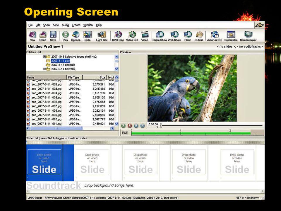 17 Opening Screen
