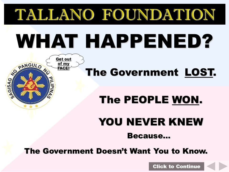 TALLANO FOUNDATION 1972 Agana Decision with Compromise Agreement Parties: Republic of the Philippines Vs.