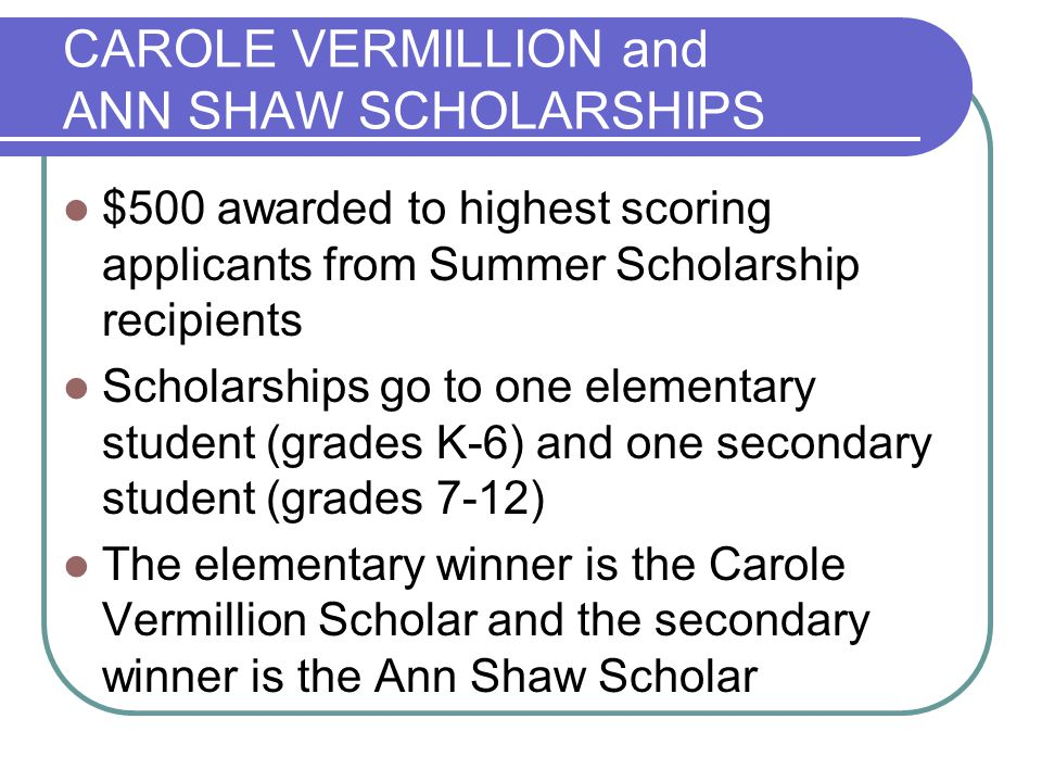 OTHER REMINDERS Be sure to include the TAGT Summer Scholarship Application Information (page 7) Stay within space limitations May be handwritten or typed (size 12 font or larger) Do not include any products or work samples Do not include extra recommendations Check to make sure the application is complete A current TAGT member must sign on as a sponsor Apply to summer programs separately from this scholarship application