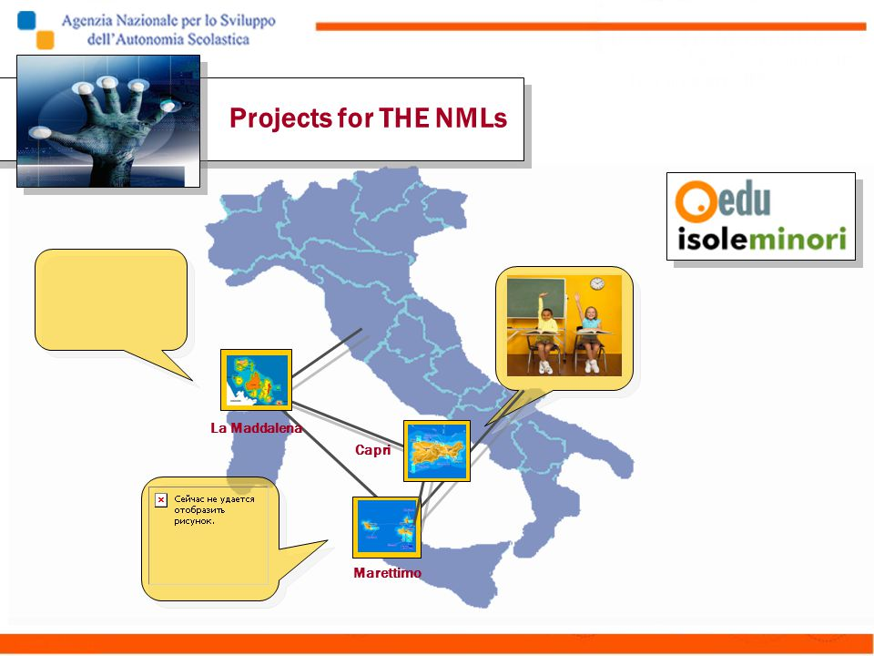 La Maddalena Capri Marettimo Projects for THE NMLs