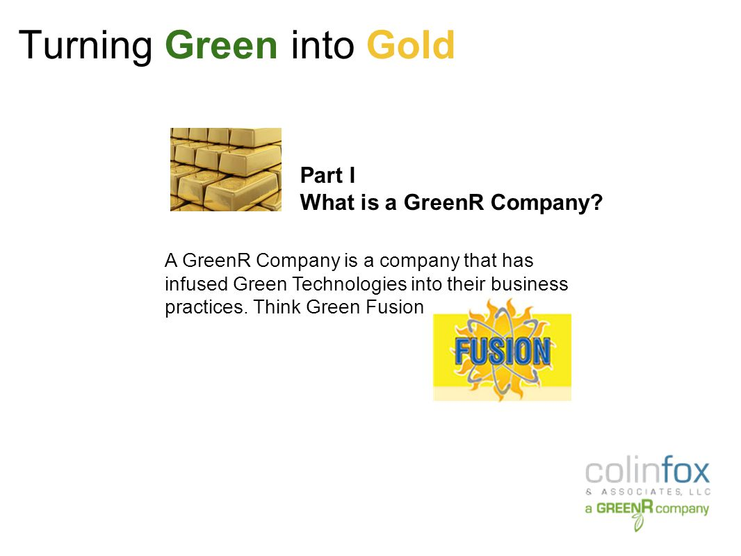 Turning Green into Gold Extra Costs to Become LEED Certified as of 2007 - Excluding Certification Fees:
