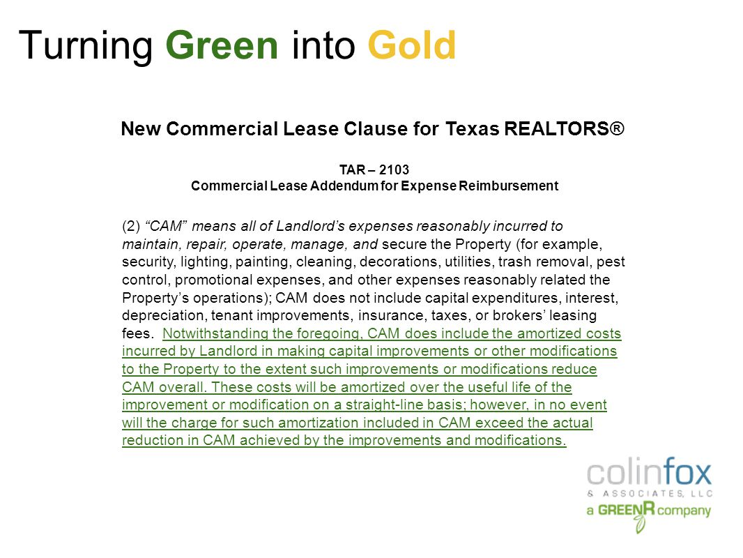 Turning Green into Gold USGBC data: Commercial buildings annually consume: > 30% of the total energy.