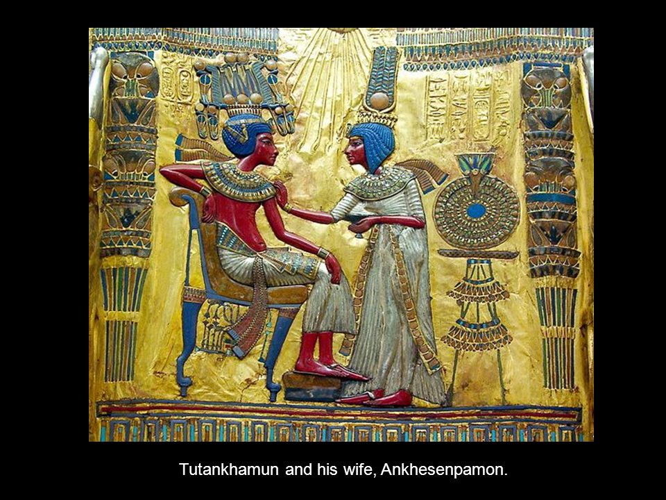 Anubis, the jackal-headed god associated with mummification.