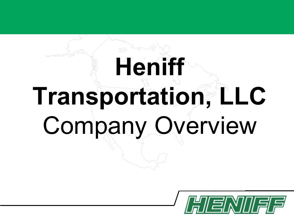 Heniff Transportation, LLC Company Overview