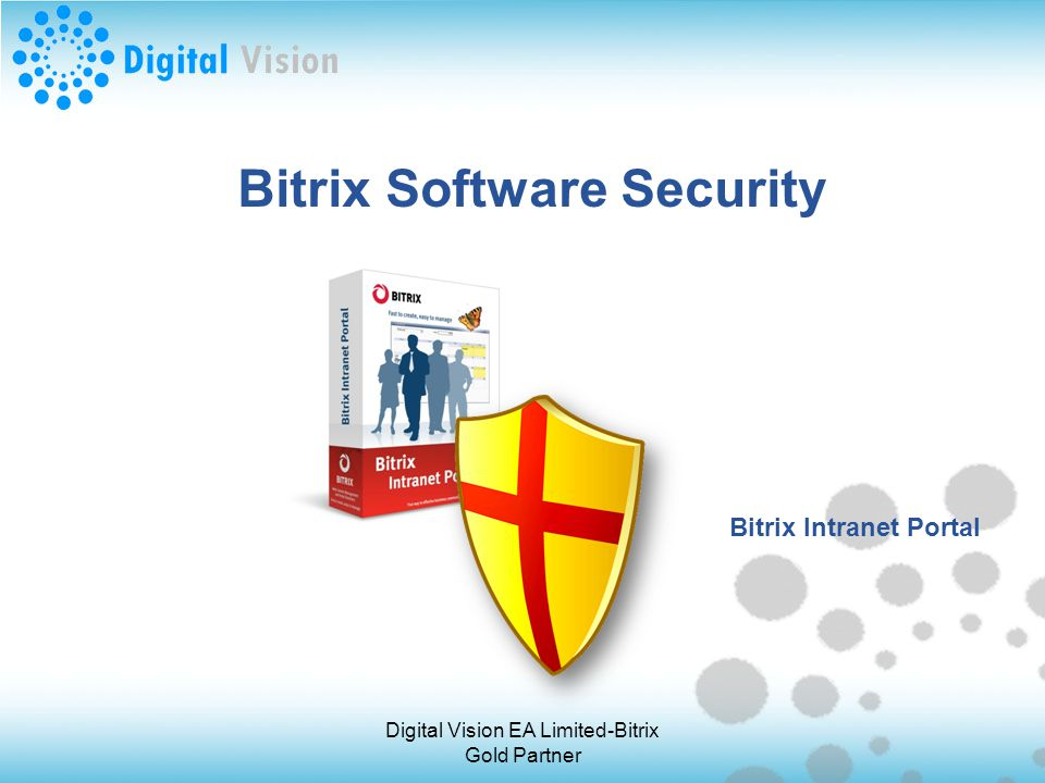 Bitrix Software Security Bitrix Intranet Portal Digital Vision EA Limited-Bitrix Gold Partner