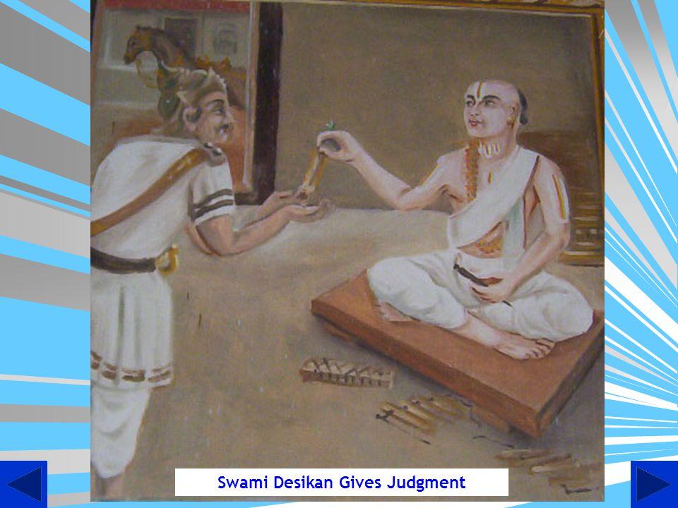 Debate between Vidhyaranyar and Akshobhya