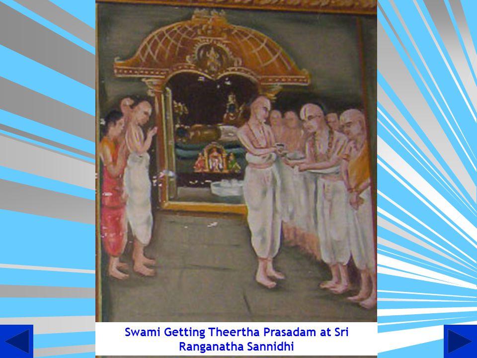 Swami Wins the Debate Place Srirangam