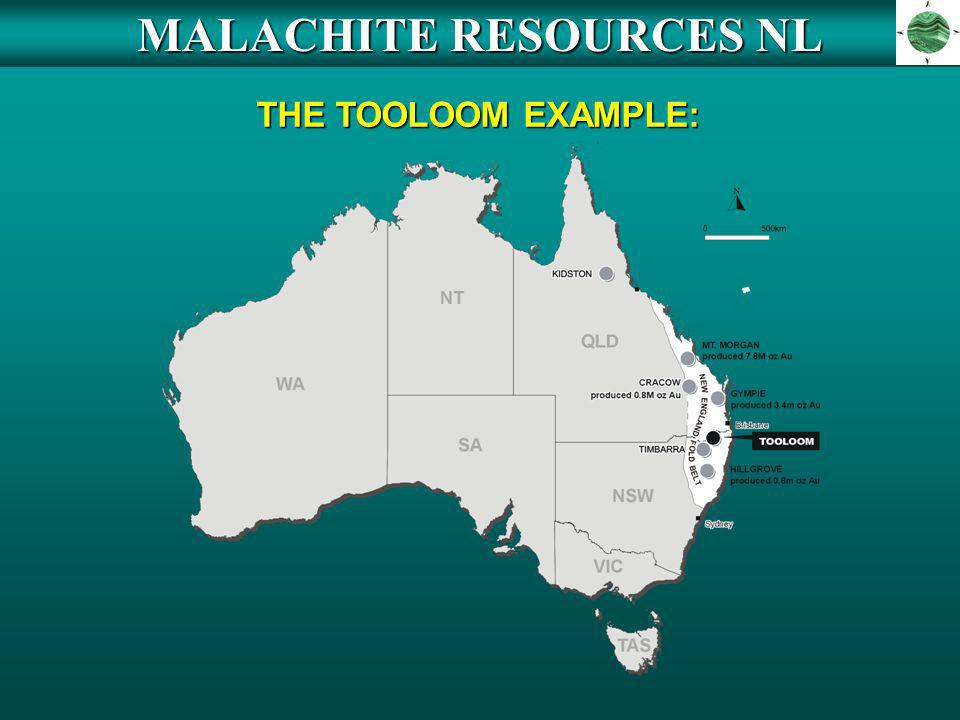 MALACHITE RESOURCES NL THE TOOLOOM EXAMPLE: