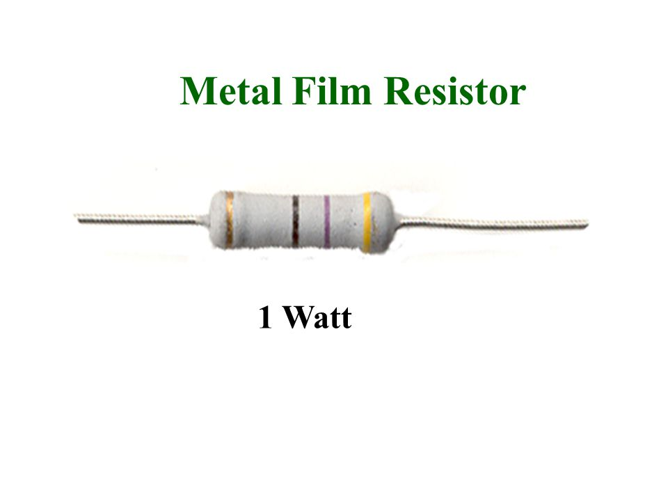 Metal Film Resistor 1 Watt