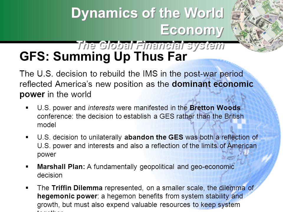 GFS: Summing Up Thus Far The U.S.