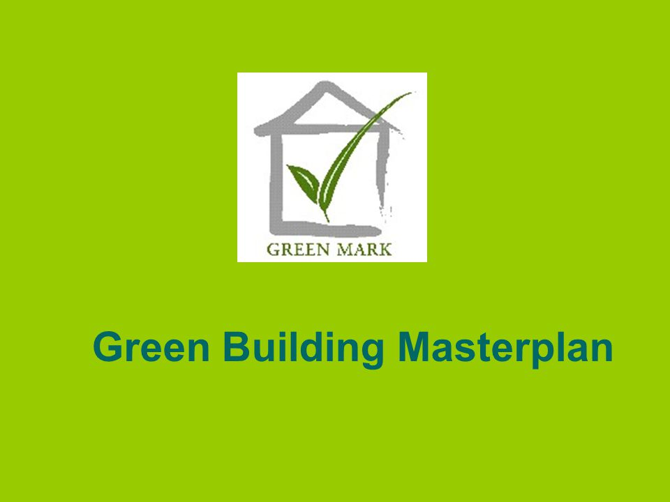 Green Building Masterplan