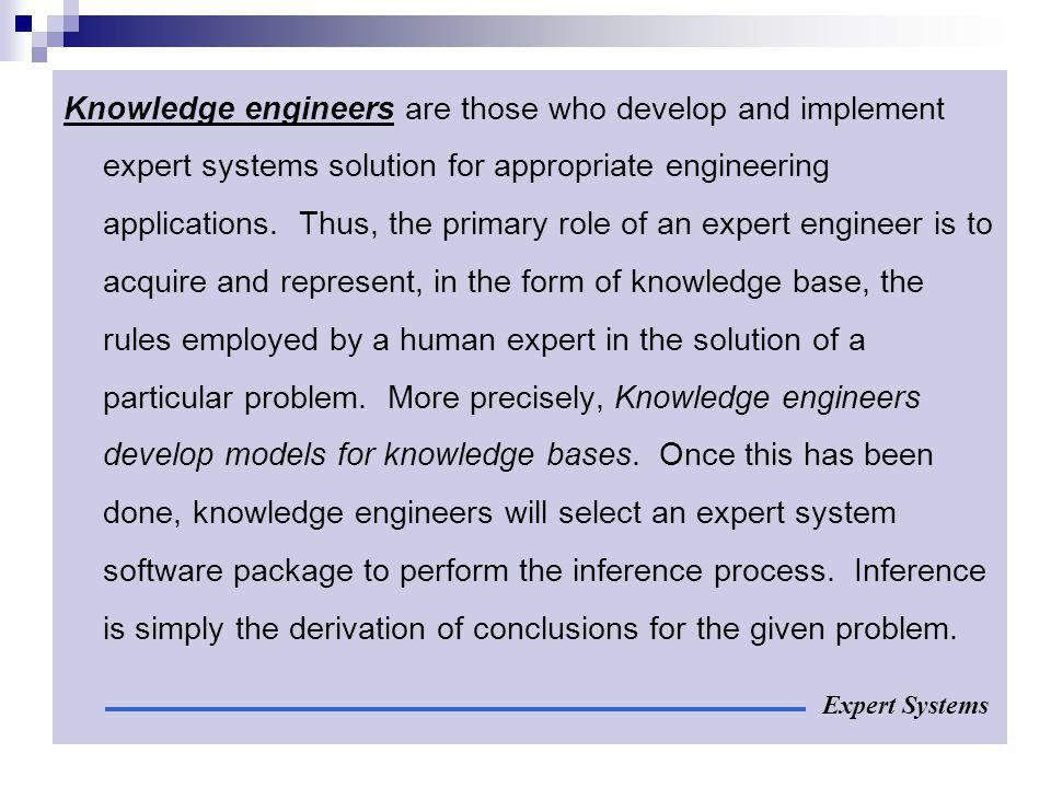 What can expert systems do.
