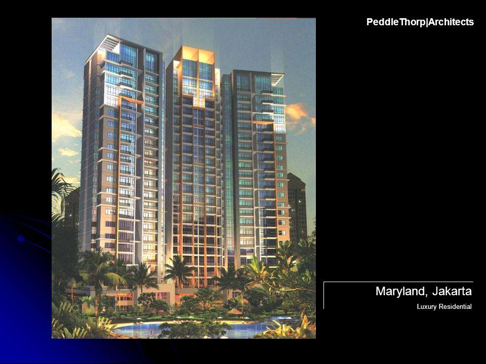 PeddleThorp|Architects Maryland, Jakarta Luxury Residential
