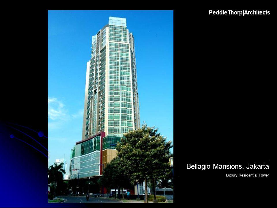PeddleThorp|Architects Bellagio Mansions, Jakarta Luxury Residential Tower