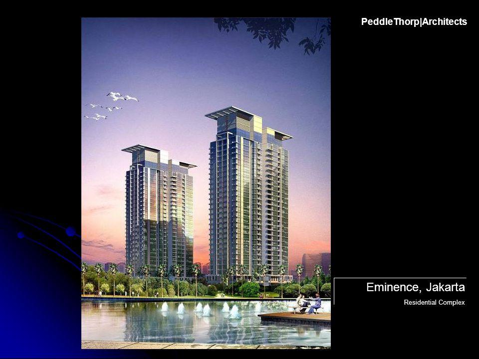 PeddleThorp|Architects Eminence, Jakarta Residential Complex