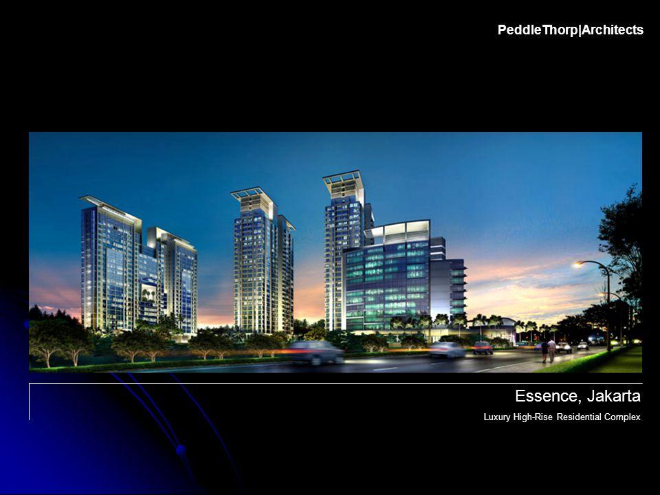 PeddleThorp|Architects Essence, Jakarta Luxury High-Rise Residential Complex