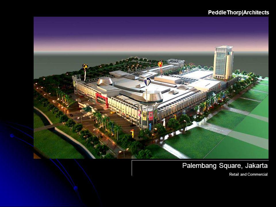 Palembang Square, Jakarta Retail and Commercial PeddleThorp|Architects